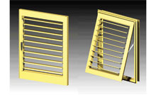 We can fit the adjustable blades into door panels or awning sashes.<br />