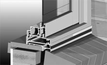 Integrated sub-sill with nailing fin standard.<br />
