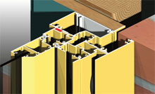 Most AWS Commercial Products can incorporate nailing fins for residential construction.