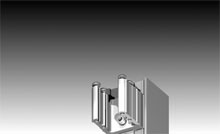 We have a matching heavy duty, 50mm thick door designed to accept 24mm IGUs.