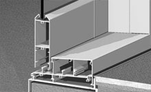 Tall, small, beveled and square rails are all an option. Tall, square rail detailed.