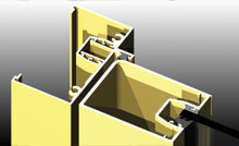 Series 80 utilises hinge backing plates for secure fixing.<br />