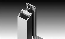 Heavy duty adjustable hinges support heavy door panels. Wide stiles accept wide backset locks.