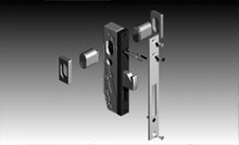 The wide stiles allow us to fit extra wide 34mm backset mortice locks.<br />