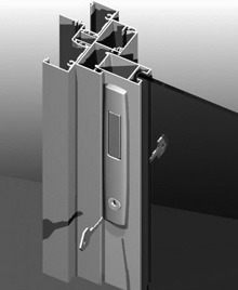 Sliding Window mortice lock can be supplied in a range of standard and special powder coat finishes to match the window framing.