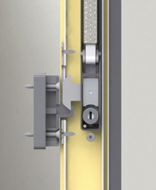 Mortice lock is securely fixed to window stile.<br><br>